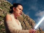 In Chicago sind am Freitag Details zum neuen «Star Wars»-Film bekanntgegeben worden. (Bild: KEYSTONE/AP Lucasfilm)