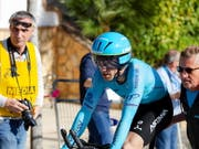 Am letzten Tag noch den Gesamtsieg erobert: Der Spanier Ion Izagirre gewann die Baskenland-Rundfahrt (Bild: KEYSTONE/EPA EFE/CARLOS CID)