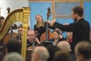 Das Baarer Kammerorchester spielte in der Kirche St.Thomas in Inwil. (Bild: Maria Schmid, Baar, 13. April 2019)