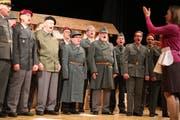 Witzig und freudvoll: «Kompanieabend» des Männerchors Oberbüren.