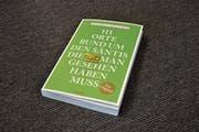 Das Buch «111 Orte rund um den Säntis, die man gesehen haben muss» gehört zu einer Themenreihe des Emons Verlags. (Bild: Anina Rütsche)
