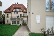 Seit 30 Jahren eben kein Witz mehr an der HSG: Das Institut für Wirtschaftsethik in St.Gallen-Rotmonten. (Bild: Adriana Ortiz Cardozo)