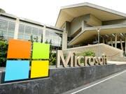Auf die E-Mail-Angebote von Microsoft hat es einen Angriff gegeben. (Bild: KEYSTONE/AP/TED S. WARREN)