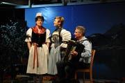 Das Jodlerduett Lydia Barmettler und Barbara Rossacher überzeugte bei seinem Auftritt.