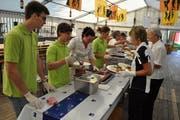 Insgesamt werden am Kantonalmusikfest rund 500 Helferinnen und Helfer im Einsatz stehen. (Bild: PD)
