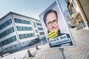 Wahlkampf im März in Romanshorn: Aktuelles Beispiel einer überraschenden Abwahl eines Gemeindepräsidenten (David H. Bon). (Bild: Andrea Stalder )