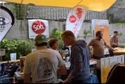 2018 Fand das Bier Festival Luzern noch auf dem Kulturhof Hinter Musegg statt. (Bild: PD)