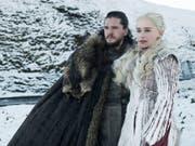 Die erste Folge der achten Staffel der Fantasy-Saga «Game of Thrones» war am 15. April 2019 auch auf dem Sender RTS zu sehen. (Bild: Keystone/AP HBO)