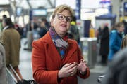 Edith Graf-Litscher (SP), Präsidentin der Verkehrskommission. (Bild: Claudio Thoma)