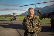 Daniel Baumgartner, der Ausbildungschef der Armee, wird Verteidigungsattaché in Washington. (Bild: Nicola Pitaro)