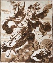 Luca Giordano: «Der Hl. Erzengel Michael vertreibt die ungehorsamen Engel». (Bild: Sammelleihgabe Attilio Gadola)