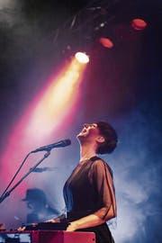 Leidenschaftlich und hartnäckig: Ana Scent in der Grabenhalle. (Bild: Michel Canonica)
