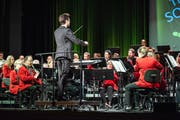 Die Feldmusik Altdorf entführte die Anwesenden an ihrem Konzert im Theater Uri in die Welt des Tanzes. (Bild: PD)