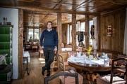 Der neue Geschäftsführer im Hotel Hammer, Christian Longatti. (Bild Pius Amrein, Eigenthal, 1. April 2019)