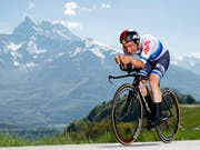 Victor Campenaerts war im vergangenen Jahr auch an der Tour de Romandie schnell unterwegs. (Bild: KEYSTONE/VALENTIN FLAURAUD)