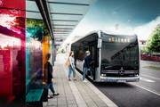 So könnte der Zuger E-Bus aussehen. (Bild: PD)