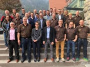 Die Sponsoren freuen sich mit den Organisatoren aufs «Kantonale». (Bild: PD)