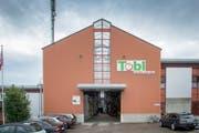 Die neue Obstlagerhalle der Tobi Seeobst AG in Egnach, ist die modernste in Europa. Bild: Urs Bucher