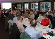 Die SVP-Parteiversammlung beschäftigt sich mit den Abstimmungsparolen. (Bild: PD)
