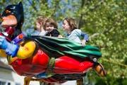 Auch Jahrmärkte beflügeln die Wünsche der Kleinen. (Bild: Coralie Wenger)