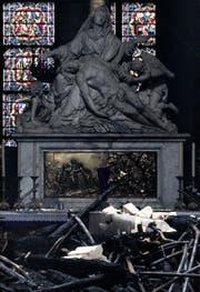 Ein Blick in das Innere der Kathedrale Notre-Dame in Paris. (Dan Kitwood/Getty)