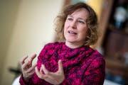 Ina Karr ist die neue Intendantin des Luzerner Theaters. (Bild: Philipp Schmidli, Luzern, 16. April 2019)
