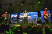 Die Band Alpenland Sepp & Co hat dieses Jahr ihren letzten Auftritt am Festival in Bürglen. (Bild: Mario Testa (5.5.2018))