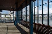 So sieht die Halle von innen aus. Bild: Dominik Wunderli (Luzern, 17. April 2019)
