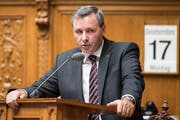 Werner Salzmann, Berner SVP-Nationalrat. Bild: Keystone/Peter Schneider (Bern, 17. September 2019)