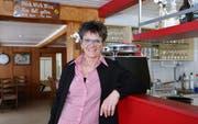Wirtin Agi Nagel sieht der Eröffnung des Restaurants Linde mit Optimismus entgegen. (Bilder: Philipp Stutz)