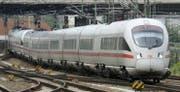 Ein ICE-Zug der Deutschen Bahn. (Bild: KEY)