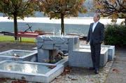 Sieht keinen Sinn im Bestehen des Regionalentwicklungsverbands: Remo Zberg, Gemeindepräsident von Hergiswil und Präsident der Gemeindepräsidentenkonferenz. (Bild: Martin Uebelhart, Hergiswil, 6. Oktober 2017)