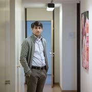 Shlemen Hanno ist Forensiker und spricht über den Mann, der die rund 80 Buben aus der Region heimlich gefilmt hat. (Bild Pius Amrein, Luzern, 20. Mai 2016).