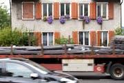 1,1 Millionen Schweizer leben mit übermässigem Strassenlärm. (Quelle: ky)
