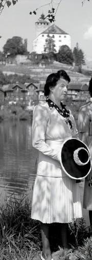 Margrit Knie-Lippuner bei einem Besuch in ihrer Heimat. (Bild: Archiv Hansruedi Rohrer)