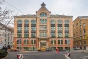 Die für 8,6 Millionen versteigerte Sono-Jugendstilvilla gehört heute der St.Galler Müller Fischer AG. (Bild: Urs Bucher (St.Gallen, 9.November 2018))