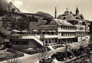 So sah das Hotel Sternen in Unterwasser in den 1930er-Jahren aus. Der Betrieb war seit dem 19. Jahrhundert als Luft- und Molkenkurort eine Institution. (Bild: PD)