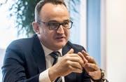 Remo Lobsiger, Leiter Firmenkunden der Thurgauer Kantonalbank. Bild: Reto Martin
