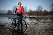 Die Triathletin Sandrine Benz lebt in Steinach, im Haus in dem sie aufgewachsen ist. (Bild: Benjamin Manser)