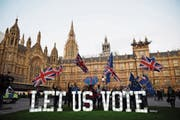 Die Briten sind tief gespalten im Streit um den Brexit. Und auch das Parlament weiss bislang nur, was es nicht will.