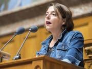 Hegt Ambitionen für den Ständerat: die Waadtländer SP-Nationalrätin Ada Marra. (Bild: Keystone/ANTHONY ANEX)