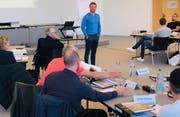 Der Start zur Weiterbildung in Sportmanagement im HSG-Weiterbildungszentrum Holzweid. (Bild: PD)