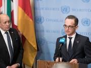 Deutschland und Frankreich haben am Dienstag eine «Allianz der Multilateralisten» ins Leben gerufen - das gaben die Aussenminister der beiden Länder bekannt. (Bild: KEYSTONE/AP United Nations/MARK GARTEN)