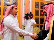 Das Königreich Saudi-Arabien will die Nachkommen des getöteten Journalisten Jamal Khashoggi unterstützen. (Bild: KEYSTONE/AP Saudi Press Agency/UNTITLED)