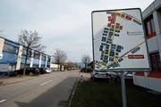 Im Industriegebiet Bösch in Hünenberg soll die Attraktivität gesteigert werden. Dies will eine IG erreichen. (Bild: Stefan Kaiser (2. April 2019))