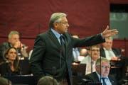 SVP-Kantonsrat Räto Camenisch aus Kriens äussert sich an Sessionen oft – und prägnant. (Bild: Dominik Wunderli, Luzern, 11. September 2017)
