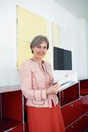 Silvia Thalmann in ihrem Büro in der Volkswirtschaftsdirektion. (Bild: Maria Schmid (Zug, 26. März 2019))