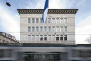 Bislang hat sich die Schweizerische Nationalbank geziert, die Klimaauswirkungen ihrer Anlagen auszuweisen. (Bild: Gaetan Bally, Keystone, Zürich, 11. Apil 2018)