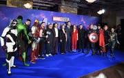 Cast und Crew des neusten Avengers-Film. (Bild: epa)