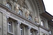 Die Schweizerische Nationalbank ist wieder auf Gewinnkurs. (Bild: Gaetan Bally/Keystone)